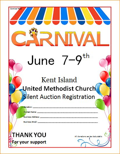 4+ carnival flyers | Outline Templates