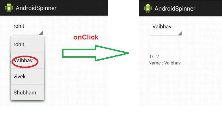 Android Spinner (Drop Down) Example - TechLoveJump | Android tutorials