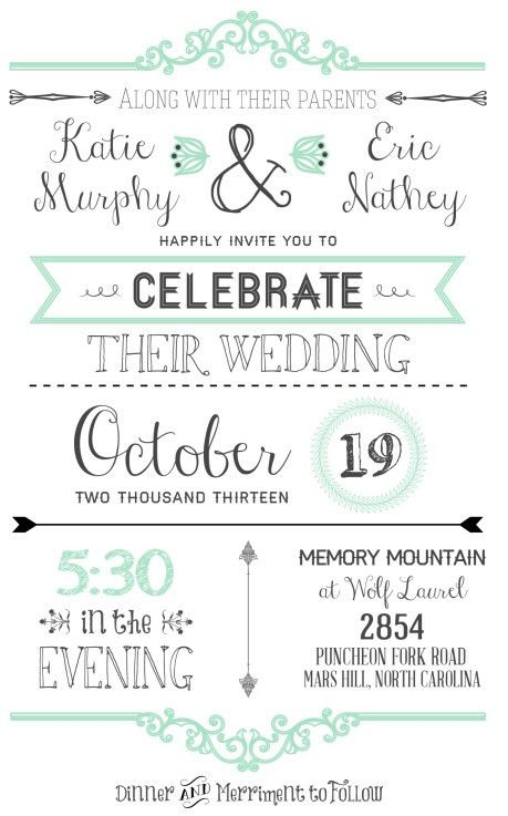 FREE Wedding Invitation Templates | Free wedding invitations, Free ...