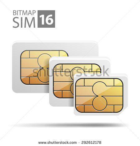 Vector Image Nano Sim Micro Sim Stock Vector 266117420 - Shutterstock