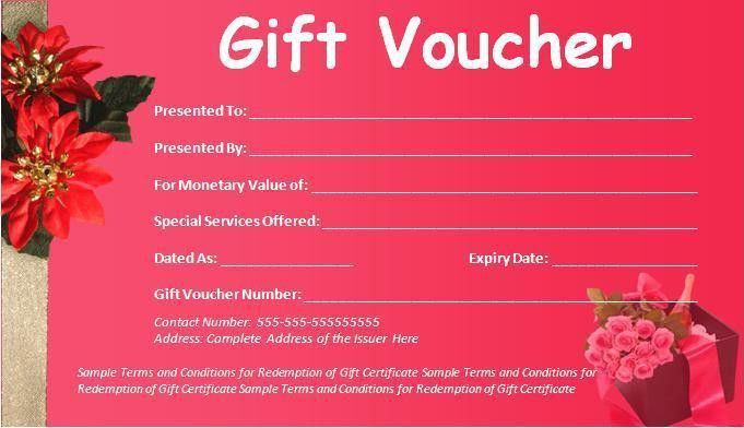 Sample Gift Voucher Archives - Fine Templates
