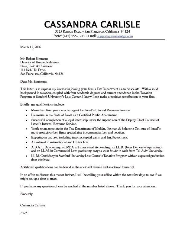 Download How To Do A Cover Letter For Resume ...