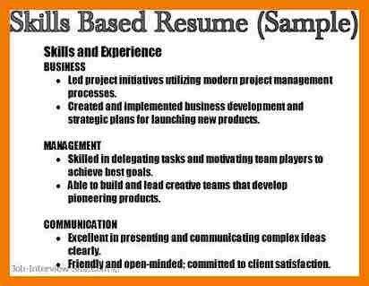 9+ skills for resume examples | mbta online