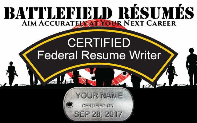 Federal (USAJOBS) Resume Writer Certification Workshop Tickets ...