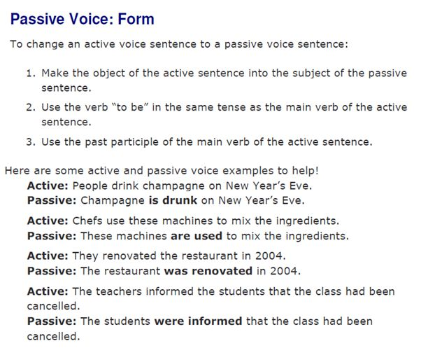 PASSIVE VOICE: how crimes are reported. on Tildee | How-to and ...