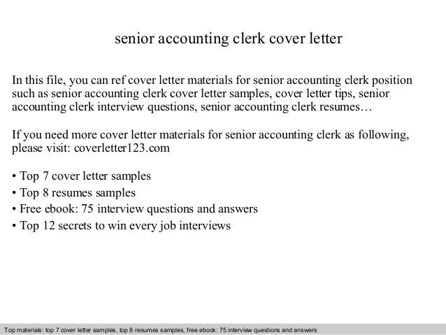 for resumes cover letter for accounting job in consideration of ...