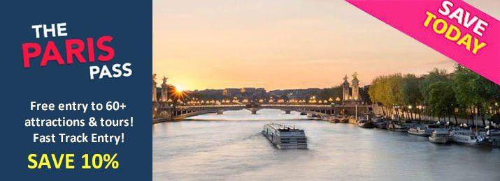Paris Pass Attraction Discount Coupon Vouchers