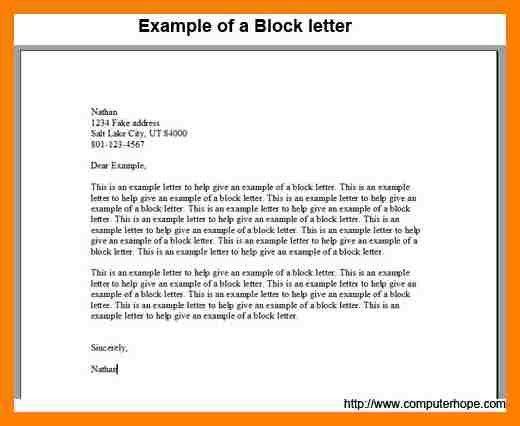 7+ examples of block letters | packaging clerks