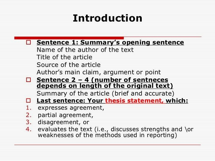 How To Write A Reaction Response Paper