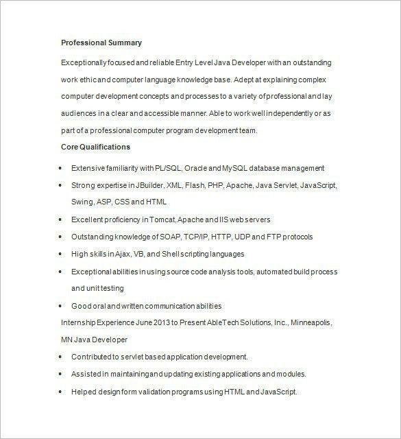 Asp Net Sample Resume India Vosvete Modern Resume Template 8412 ...