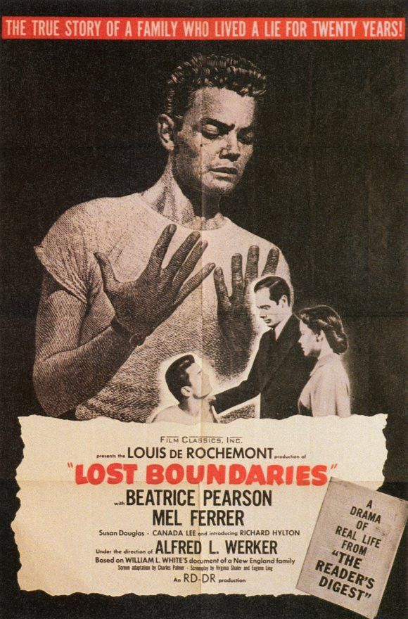 Lost Boundaries Movie Posters From Movie Poster Shop
