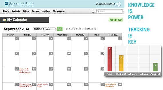FreelanceSuite   Client, Project, and Billing Management Software ...
