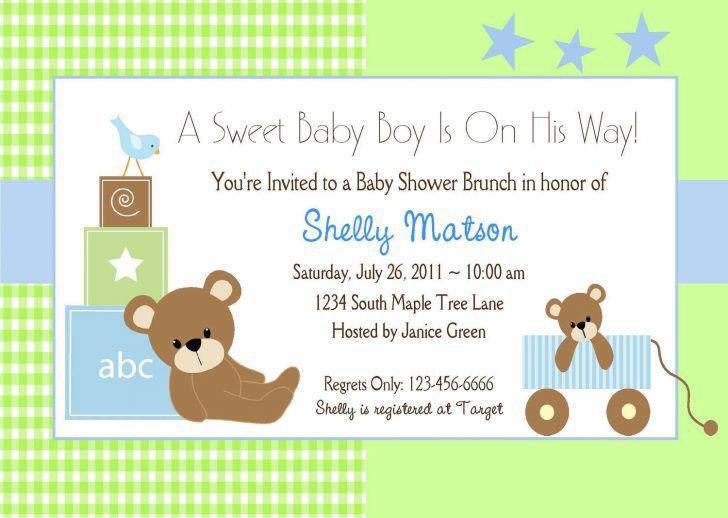 Free Printable Baby Shower Invitations Templates | Horsh Beirut