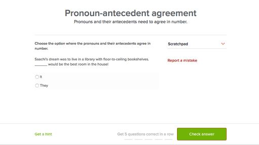 Pronoun-antecedent agreement (video) | Khan Academy