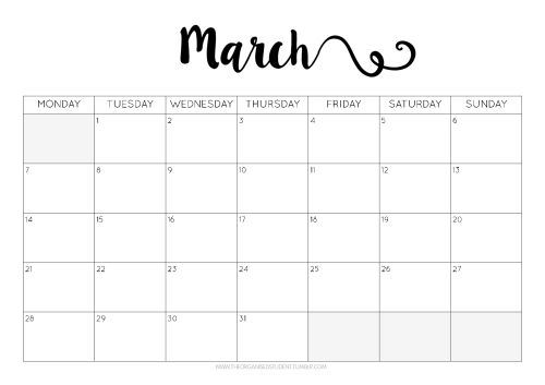 Free Printables! | Organizing, Free printables and Planners