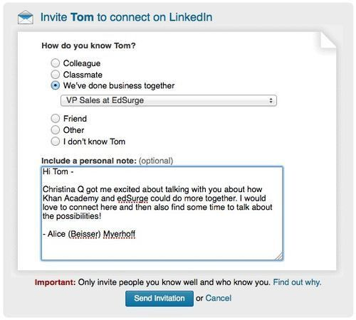 3 Tips for Connecting on LinkedIn the Smart Way - Salesforce Blog
