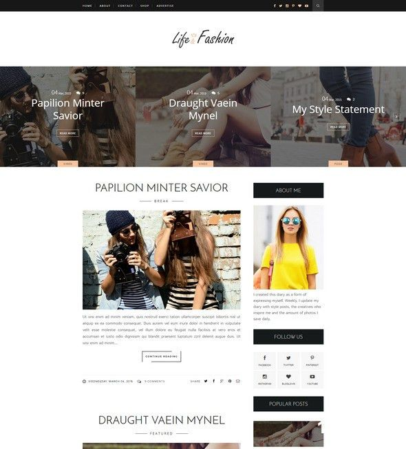 55+ Best Free Responsive Blogger Templates 2017
