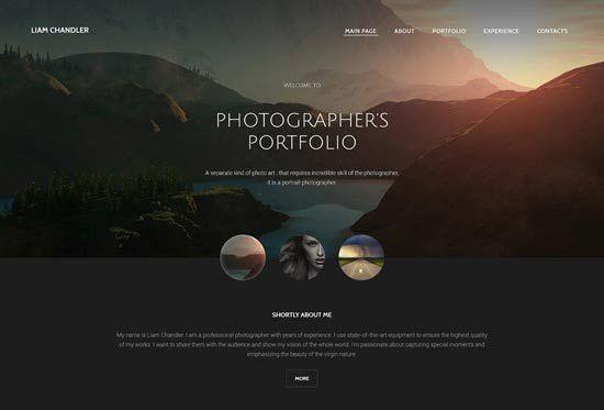 70+ Best Photography Website Templates Free & Premium - freshDesignweb