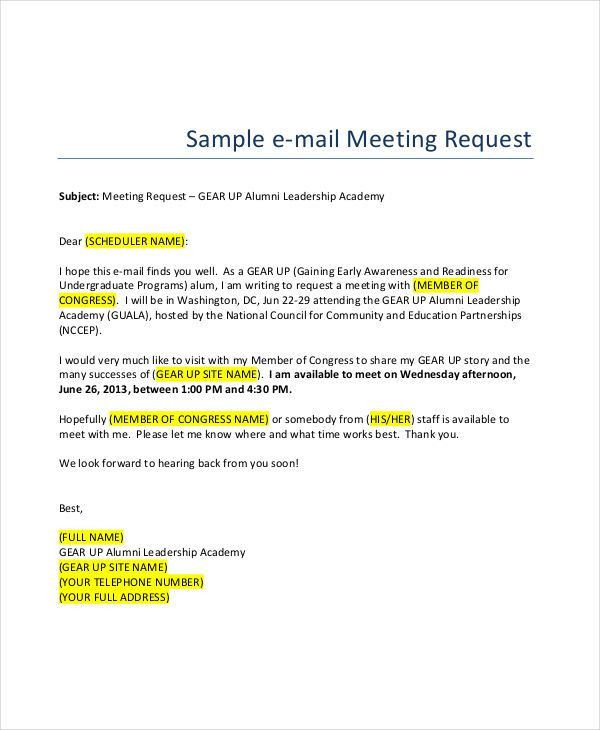 5+ Formal Email Examples, Samples