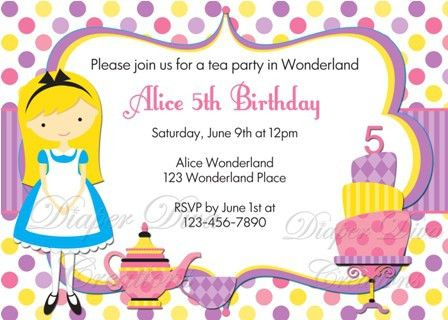 Birthday Invitations For Kids | badbrya.com