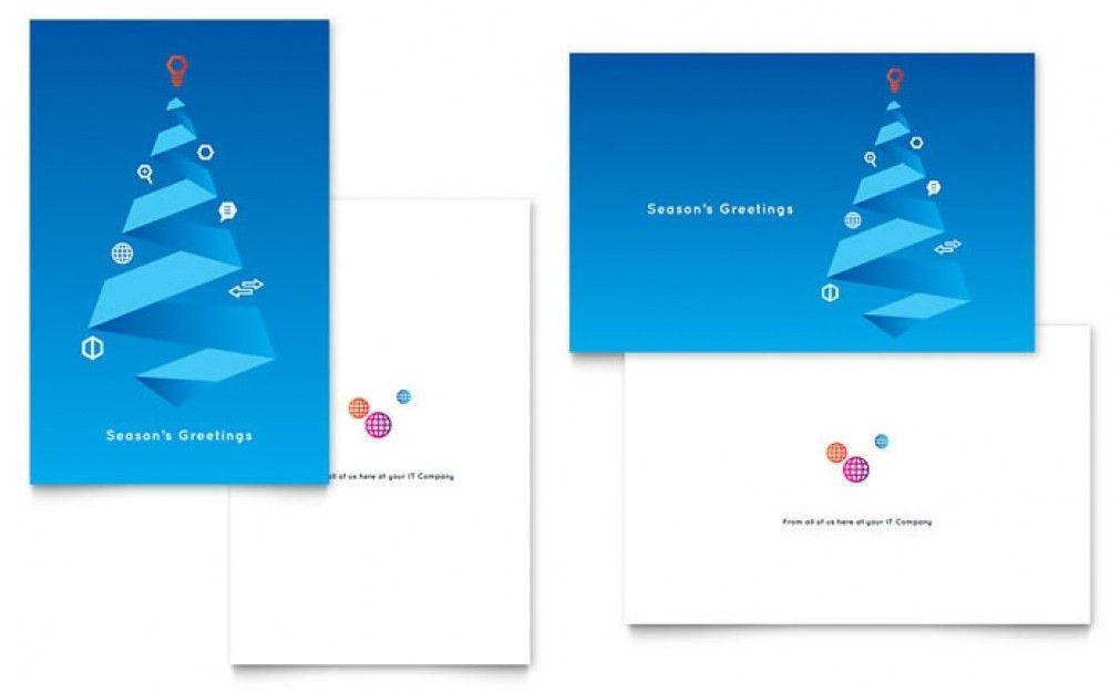 Indesign Christmas Card Template - Contegri.com