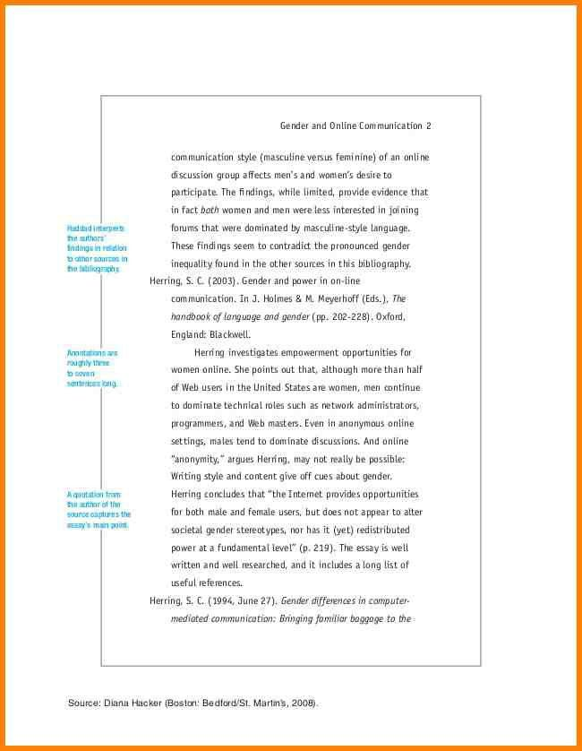 5+ annotated bibliography example chicago turabian style ...