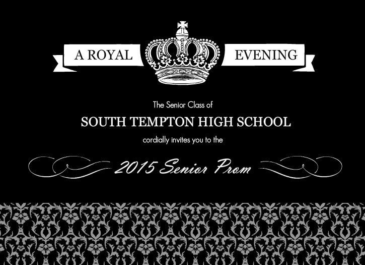 Prom Invitations Template | Best Template Collection