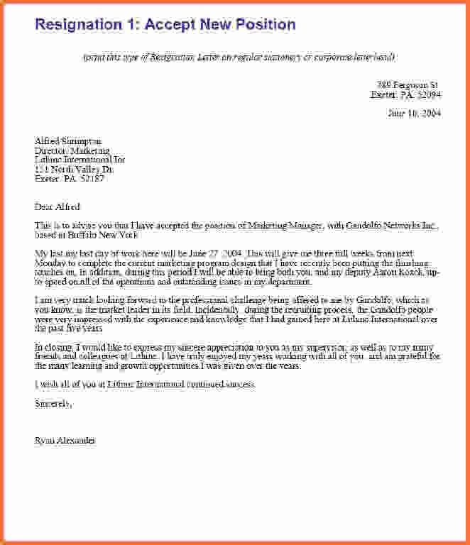 How To Write A Resignation Letter Samples.new Format Of Formal ...