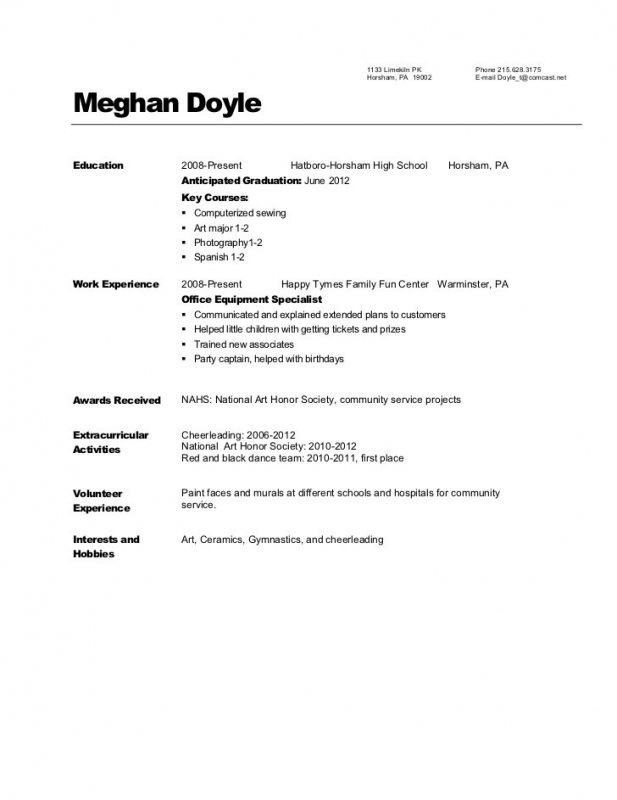 Download Dance Resume Template | haadyaooverbayresort.com