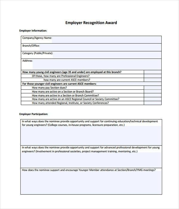 Award Templates - 8+ Free Word, PDF Documents Download