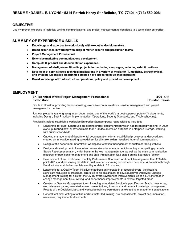 junior technical writer resume cover letter for scholarship