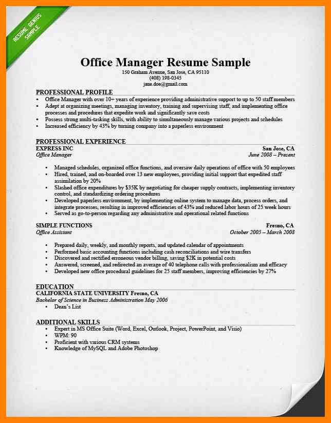 Resume collection manager
