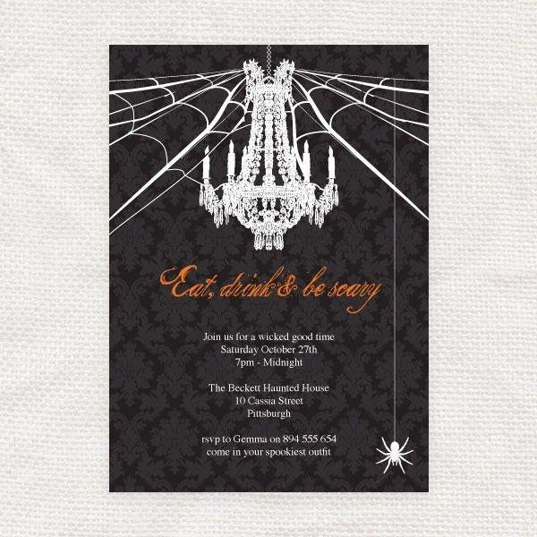 Free Printable Halloween Invitation Templates | ... Halloween ...