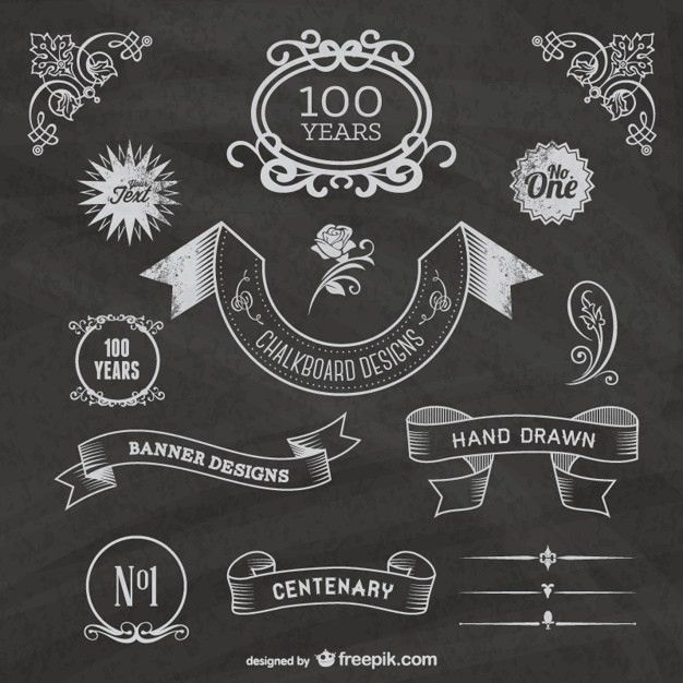 Chalkboard Vectors, Photos and PSD files | Free Download