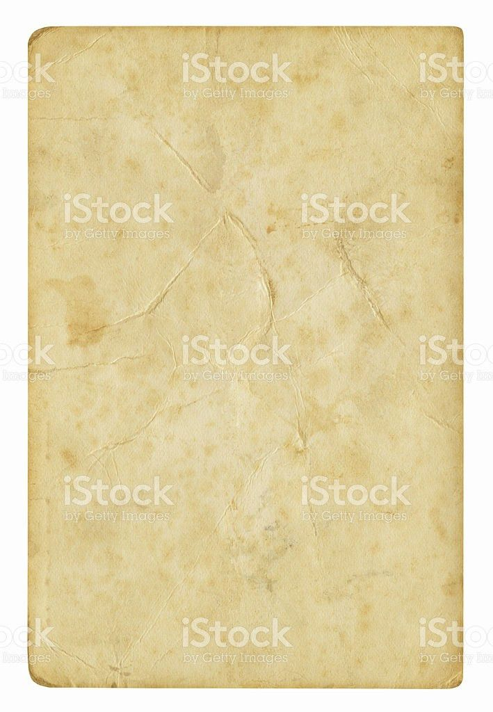 Blank Paper Background Isolated stock photo 182903099 | iStock