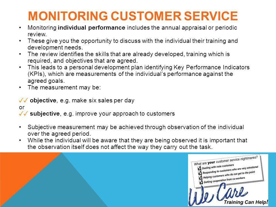 customer service objectives and goals