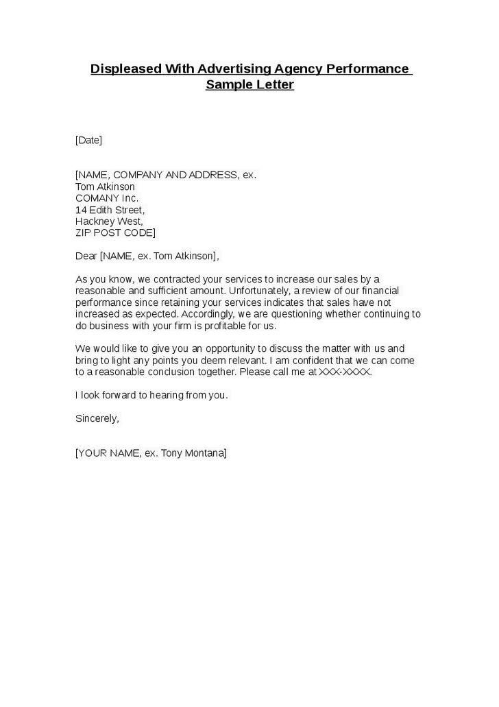 Letter of employee bonus