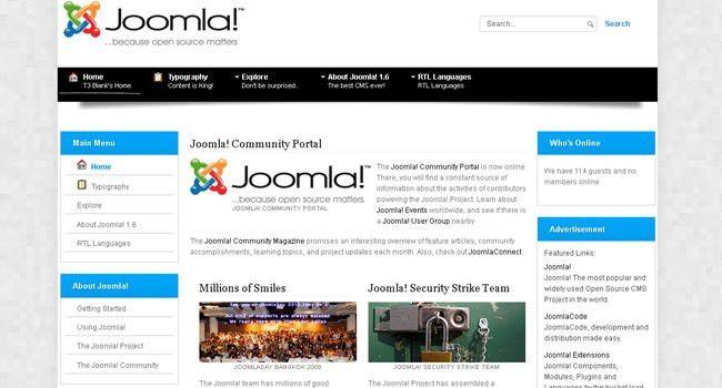30 Professional Free Joomla Templates - Flashuser
