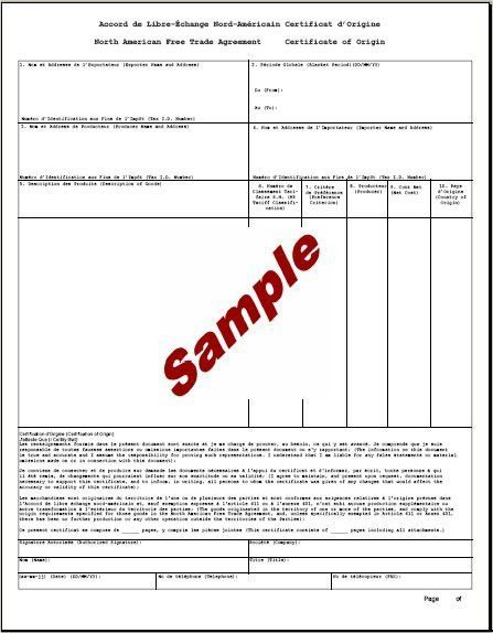 Certificate of origin sample 5 certificate of origin templates 5 certificate of origin templates excel pdf formats yadclub Image collections