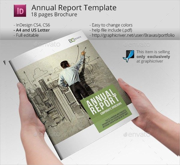 Business Annual Report Templates - 21+ Free PSD, AI, EPS, Vector ...