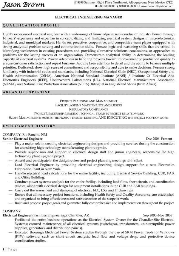Download Engineering Manager Resume | haadyaooverbayresort.com