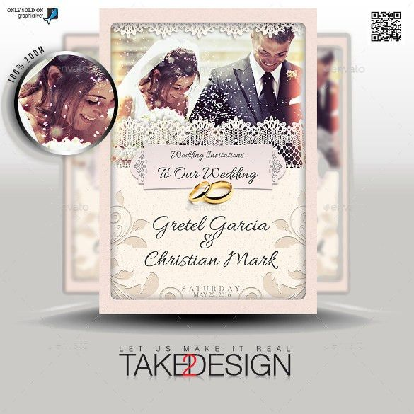 20+ Second Marriage Wedding Invitation Templates – Free Sample ...