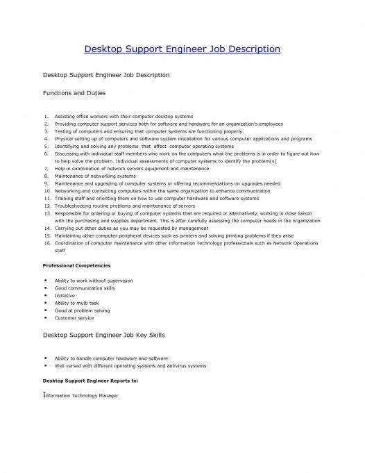 Computer Hardware Engineers Intended For Engineer Job Description ...