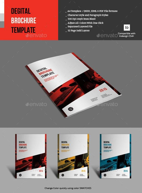 16+ Fresh Digital Brochure Templates - Free PSD, Vector EPS, PNG ...