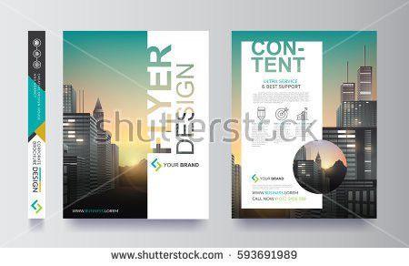 Poster Flyer Pamphlet Brochure Cover Design Stock Vector 568346170 ...