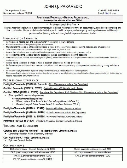 Download Emt Resume Examples | haadyaooverbayresort.com