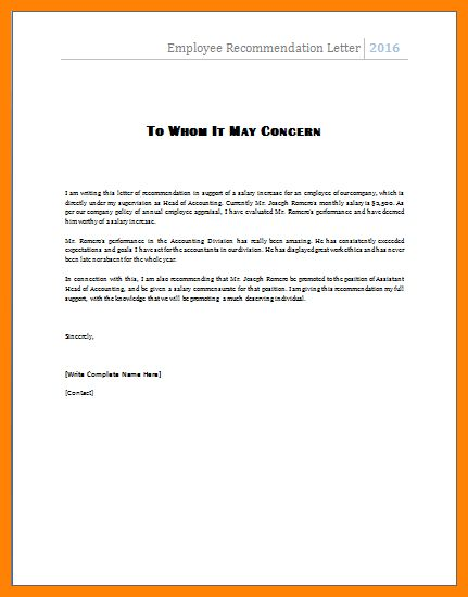 reference letter format | art resumes