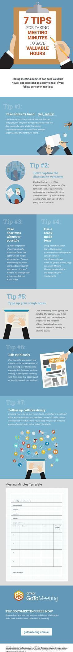 MS Word Meeting Minutes Template | Office Templates | Pinterest ...