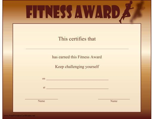 34 best PE - Awards & Certificates images on Pinterest | Award ...