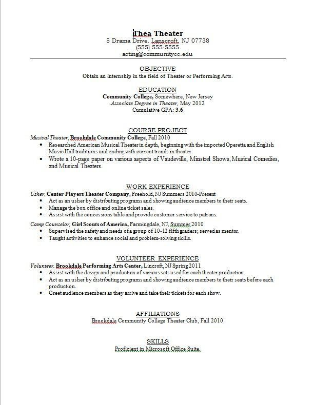 Winsome Teen Resume Examples 15 5 Resume For Teens Sample - Resume ...